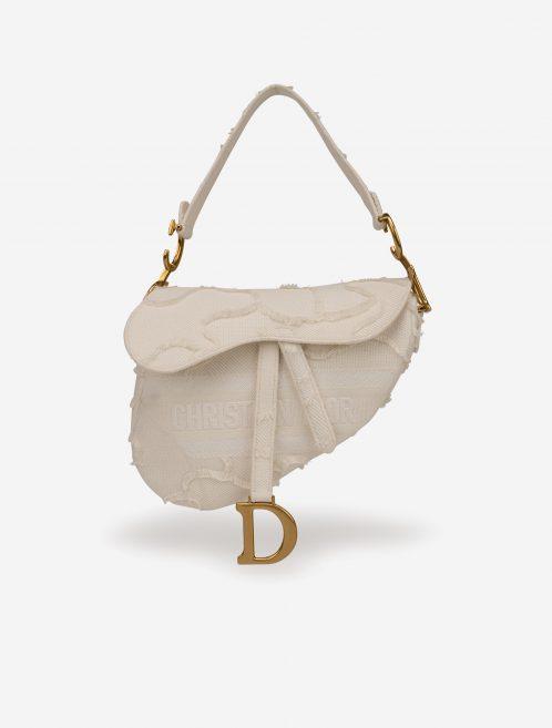 Dior Saddle Medium Camouflage White White  | Sell your designer bag on Saclab.com