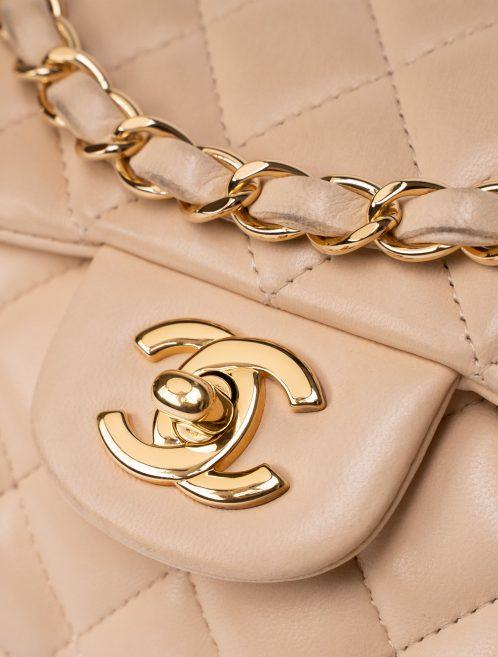 Chanel Timeless Baguette Lamb Beige