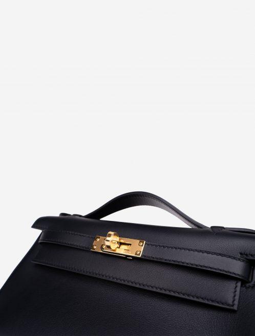 Hermès Kelly Pochette Swift Black