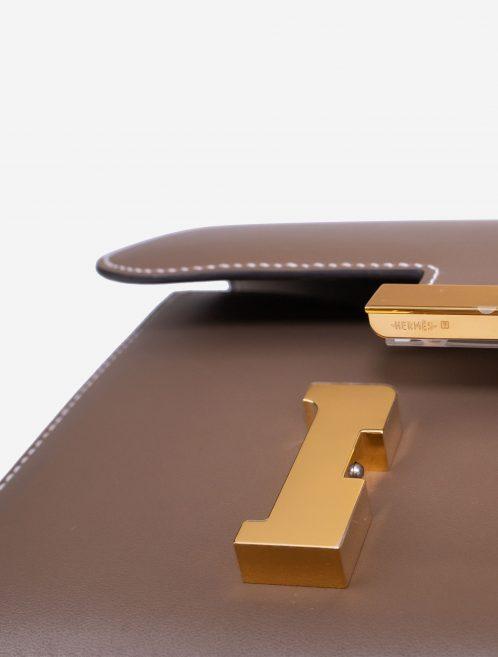 Hermès Constance Mini Tadelakt Etoupe Brown, Gray  | Sell your designer bag on Saclab.com