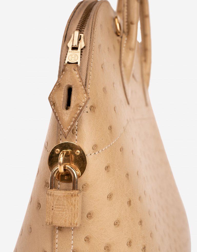 Hermès Bolide 27 Ostrich Beige