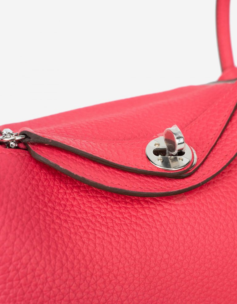 Hermès Lindy Mini Clemence Rose Extreme