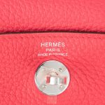 Hermès Lindy Mini Clemence Rose Extreme