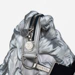 Chanel Shopper XXL Nylon Silver