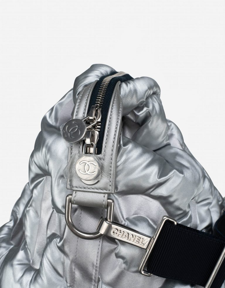 Chanel Shopper XXL Nylon Silver