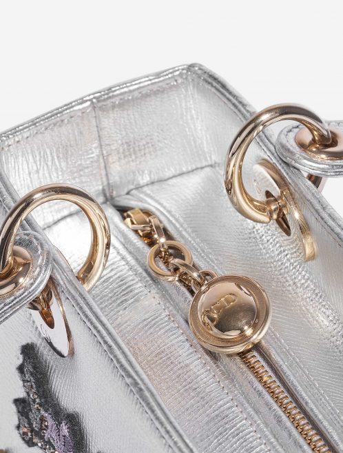Dior Lady Medium Calf Silver