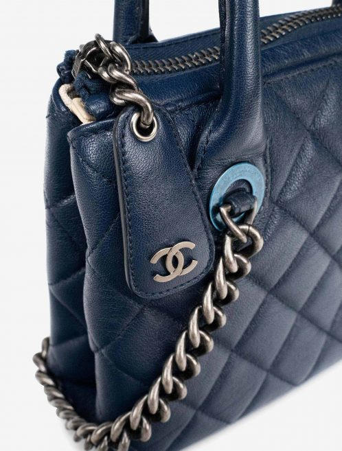 Chanel Shopper Small Chevre Blue