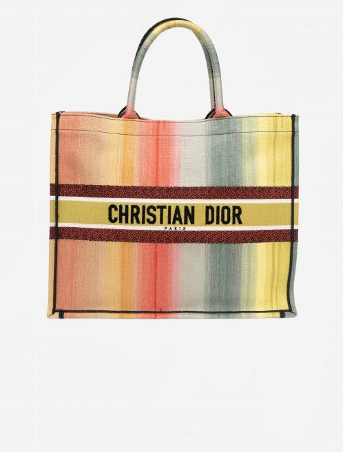 Dior Book Tote Large Canvas Multicolour Multicolour    Sell your designer bag on Saclab.com