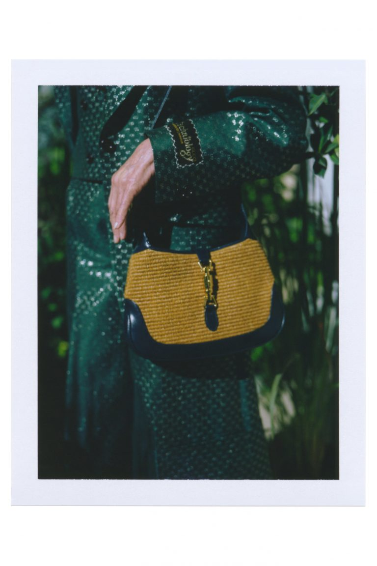 GUCCI SS21 textured Jackie Bag