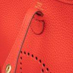 Hermès Evelyne 16 Taurillon Clemence Rouge De Coeur Red  | Sell your designer bag on Saclab.com