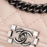 Chanel Boy Medium Lamb Light Pink