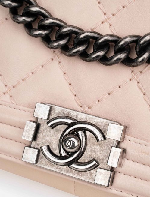Chanel Boy Medium Lamb Light Pink
