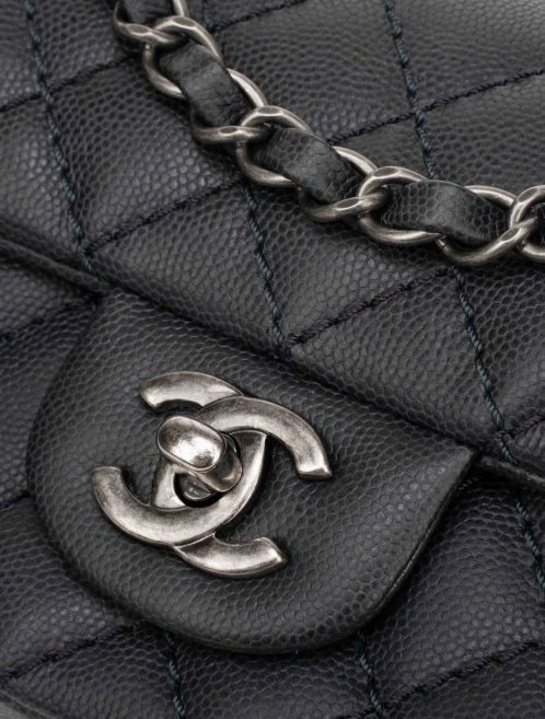 Chanel Timeless Mini Rectangular Caviar Gray