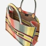 Dior Book Tote Large Canvas Multicolour