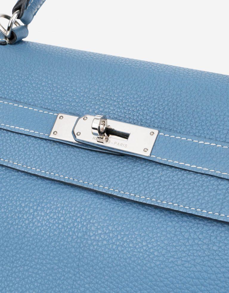 Hermès Kelly 32 Togo Blue Jean