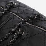 Chanel Travelbag Large Calf Black