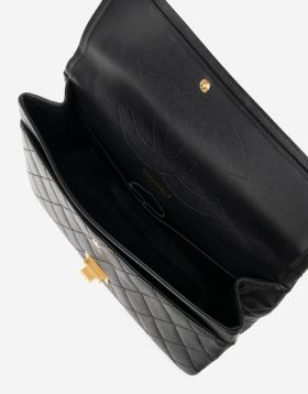 Chanel 2.55 227 Caviar Black