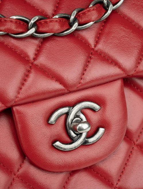 Chanel Timeless Classic Jumbo Lamb Red
