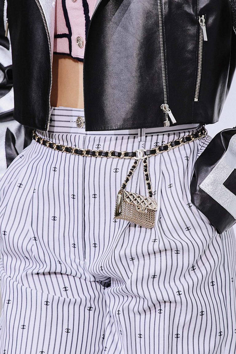 Chanel SS21 micro belt bag