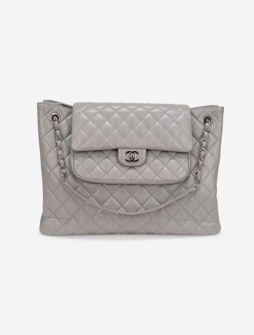 Chanel Timeless Shopper Caviar Grey