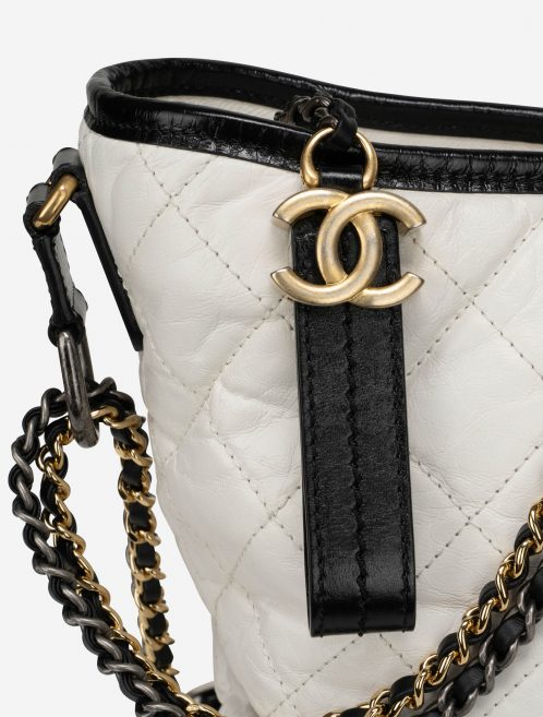 Chanel Gabrielle Medium Lamb Black / White