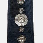 Dior Shoulder Strap Camouflage Embroidery Blue