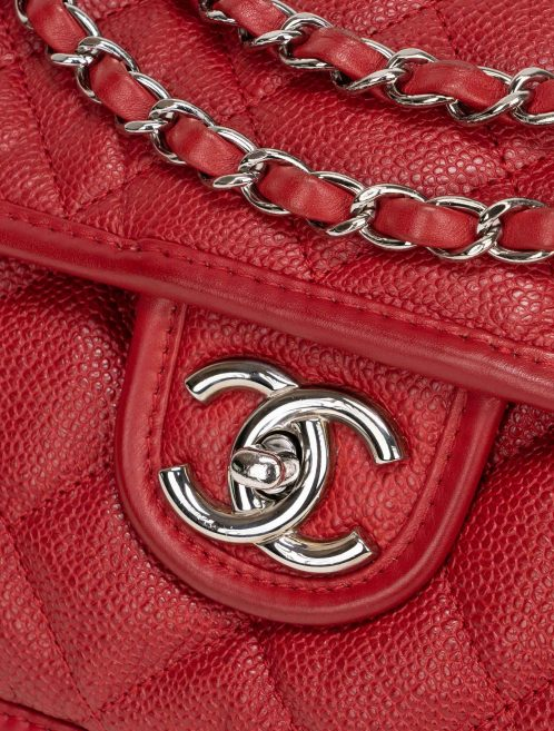 Chanel Timeless French Riviera Jumbo Caviar Red
