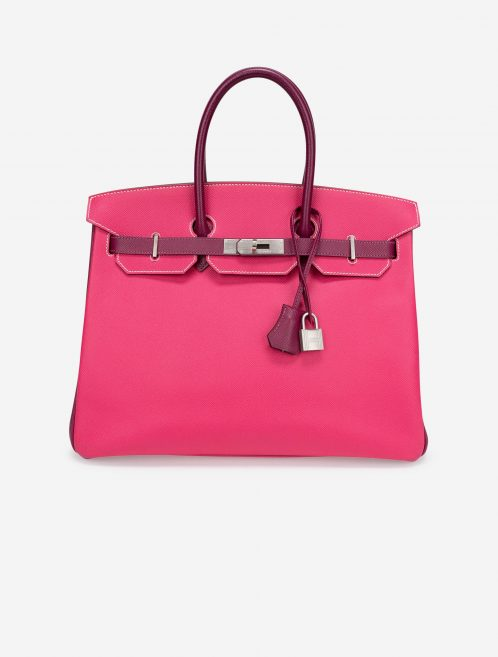 Hermès Birkin 35 HSS Epsom Rose Tyrien / Tosca