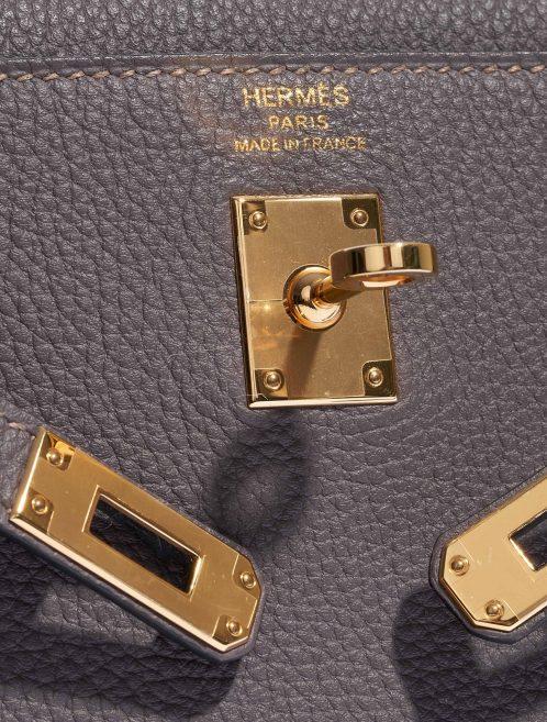 Hermès Kelly 25 Togo Etain Gold Hardware