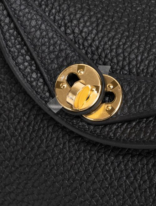 Hermes Lindy Mini Clemence Black