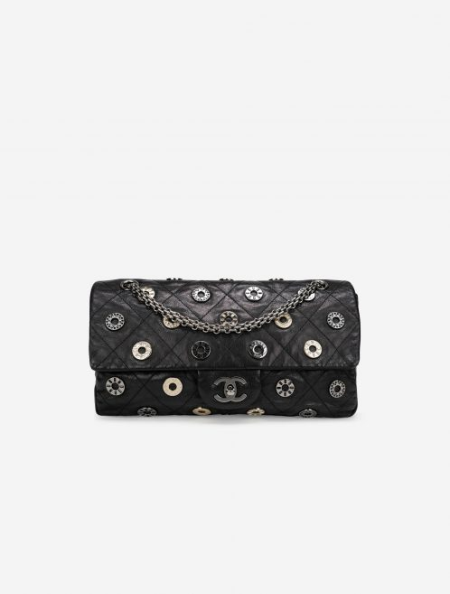 Chanel 2.55 Reissue Medium Swarovski / Chevre Black