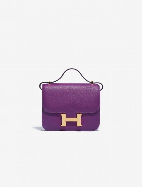 Hermès Constance Mini Evercolor Anemone SACLÀB