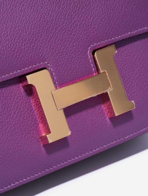 Hermès Constance Mini Evercolor Anemone Gold Hardware