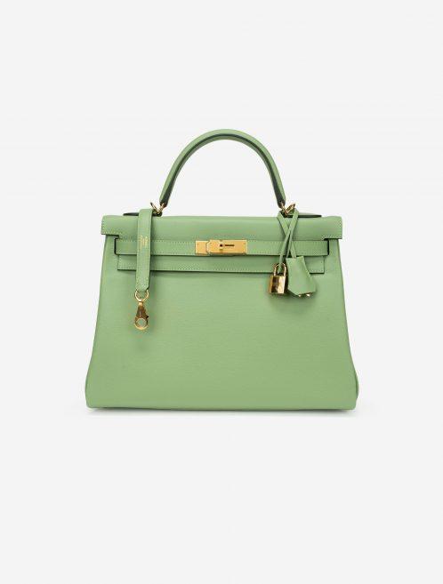 Hermès Kelly 32 Evercolor Vert Criquet