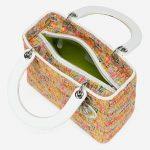 Dior Lady Medium Tweed Multicolour Multicolour  | Sell your designer bag on Saclab.com