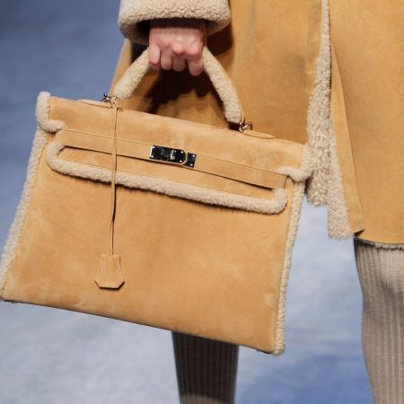 The Hermès Kelly Teddy designed by Jean-Paul Gaultier for Fall/Winter 2010/11