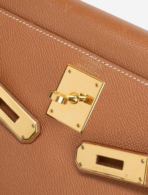 Hermès Kelly 28 Courchevel Gold