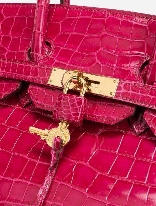 Hermès Birkin 35 Porosus Crocodile Rose Tyrien