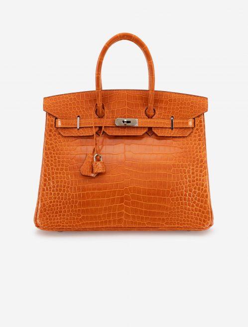Hermès Birkin 35 Porosus Crocodile Pain d'epice