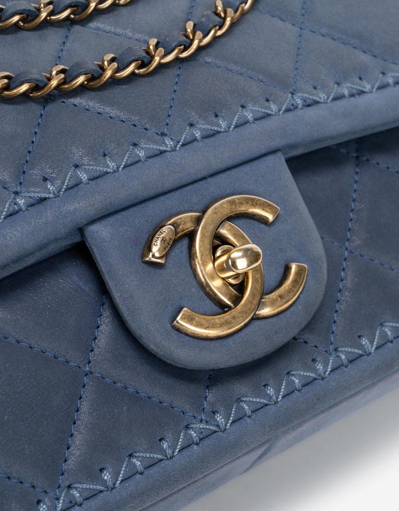 Chanel Timeless Medium Lamb Blue
