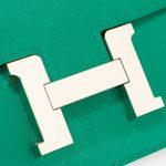 Hermès Constance 18 Evercolor Vert Vertigo Green  | Sell your designer bag on Saclab.com