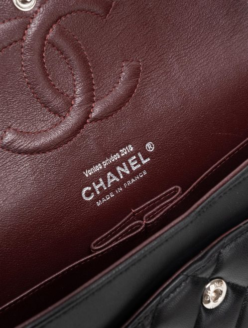 Chanel Timeless Medium Lamb Black Black  | Sell your designer bag on Saclab.com