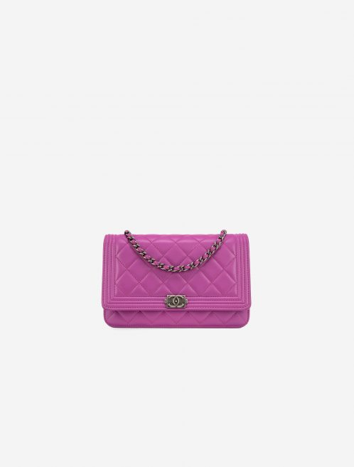 Chanel Boy WOC Lamb Pink Pink  | Sell your designer bag on Saclab.com