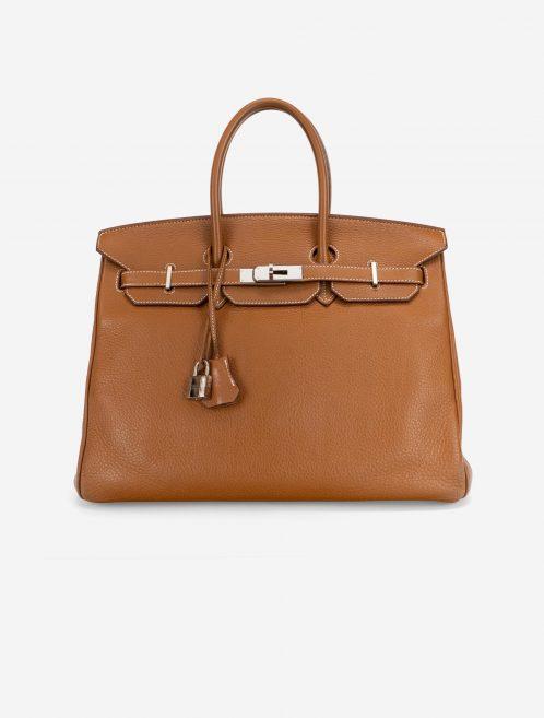 Hermès Birkin 35 Togo Gold Gold  | Sell your designer bag on Saclab.com