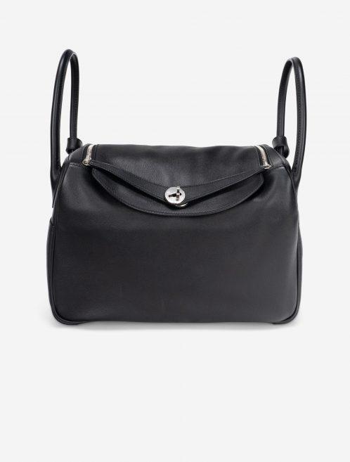 Hermès Lindy 34 Swift Black Black  | Sell your designer bag on Saclab.com