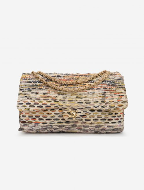 Chanel Timeless Maxi Tweed Multicolour Front