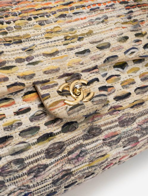 Chanel Timeless Maxi Tweed Multicolour Hardware