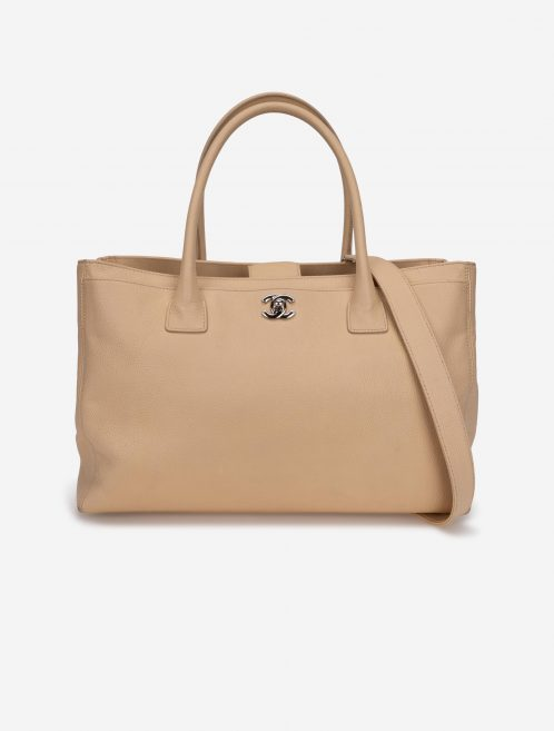 Chanel Executive Tote Calf Beige Natural  | Sell your designer bag on Saclab.com