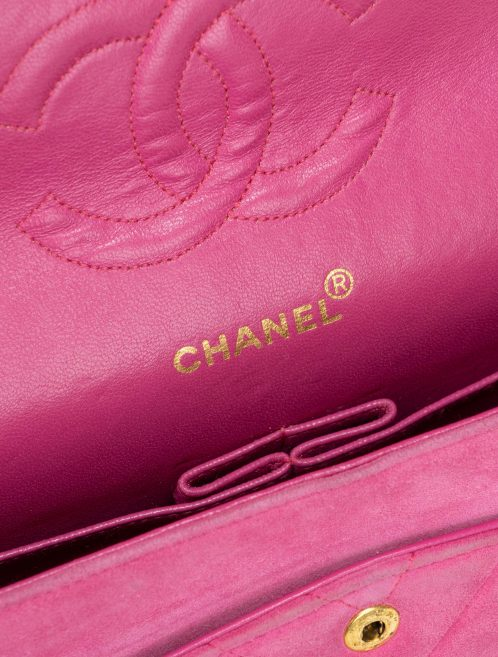 Chanel Timeless Medium Suede Pink Pink  | Sell your designer bag on Saclab.com