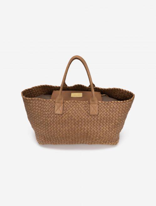 Bottega Veneta Cabat Large Intrecciato Camel Brown    Sell your designer bag on Saclab.com